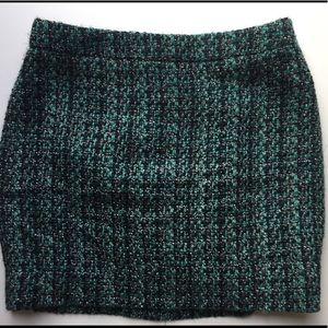J.Crew Tweed Mini Skirt